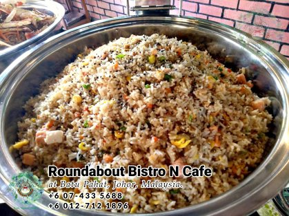 Buffet Batu Pahat Roundabout Bistro N Cafe Malaysia Johor Batu Pahat Totoro Cafe Historical Building Cafe Batu Pahat Landmark Birthday Party Wedding Function Event Kopitiam PC01-23
