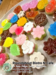 Buffet Batu Pahat Roundabout Bistro N Cafe Malaysia Johor Batu Pahat Totoro Cafe Historical Building Cafe Batu Pahat Landmark Birthday Party Wedding Function Event Kopitiam PC01-26