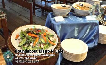 Buffet Batu Pahat Roundabout Bistro N Cafe Malaysia Johor Batu Pahat Totoro Cafe Historical Building Cafe Batu Pahat Landmark Birthday Party Wedding Function Event Kopitiam PC01-29