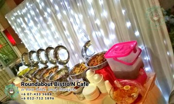 Buffet Batu Pahat Roundabout Bistro N Cafe Malaysia Johor Batu Pahat Totoro Cafe Historical Building Cafe Batu Pahat Landmark Birthday Party Wedding Function Event Kopitiam PC01-35