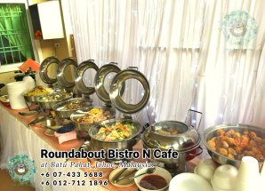 Buffet Batu Pahat Roundabout Bistro N Cafe Malaysia Johor Batu Pahat Totoro Cafe Historical Building Cafe Batu Pahat Landmark Birthday Party Wedding Function Event Kopitiam PC01-36