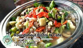 Buffet Batu Pahat Roundabout Bistro N Cafe Malaysia Johor Batu Pahat Totoro Cafe Historical Building Cafe Batu Pahat Landmark Birthday Party Wedding Function Event Kopitiam PC01-38