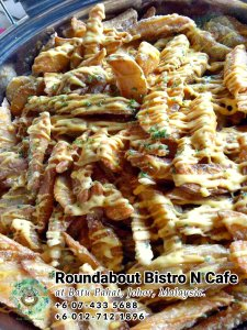 Buffet Batu Pahat Roundabout Bistro N Cafe Malaysia Johor Batu Pahat Totoro Cafe Historical Building Cafe Batu Pahat Landmark Birthday Party Wedding Function Event Kopitiam PC01-41