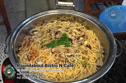 Buffet Batu Pahat Roundabout Bistro N Cafe Malaysia Johor Batu Pahat Totoro Cafe Historical Building Cafe Batu Pahat Landmark Birthday Party Wedding Function Event Kopitiam PC01-47