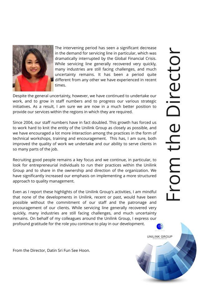 Company Profile of Agensi Pekerjaan Unilink Prospects Sdn Bhd Director Datin Sri Fun See Hoon Datin Sri Ivy Malaysia A03