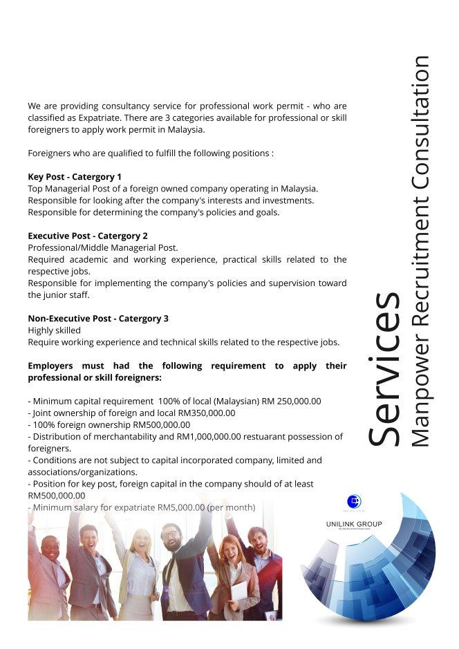 Company Profile of Agensi Pekerjaan Unilink Prospects Sdn Bhd Director Datin Sri Fun See Hoon Datin Sri Ivy Malaysia A09