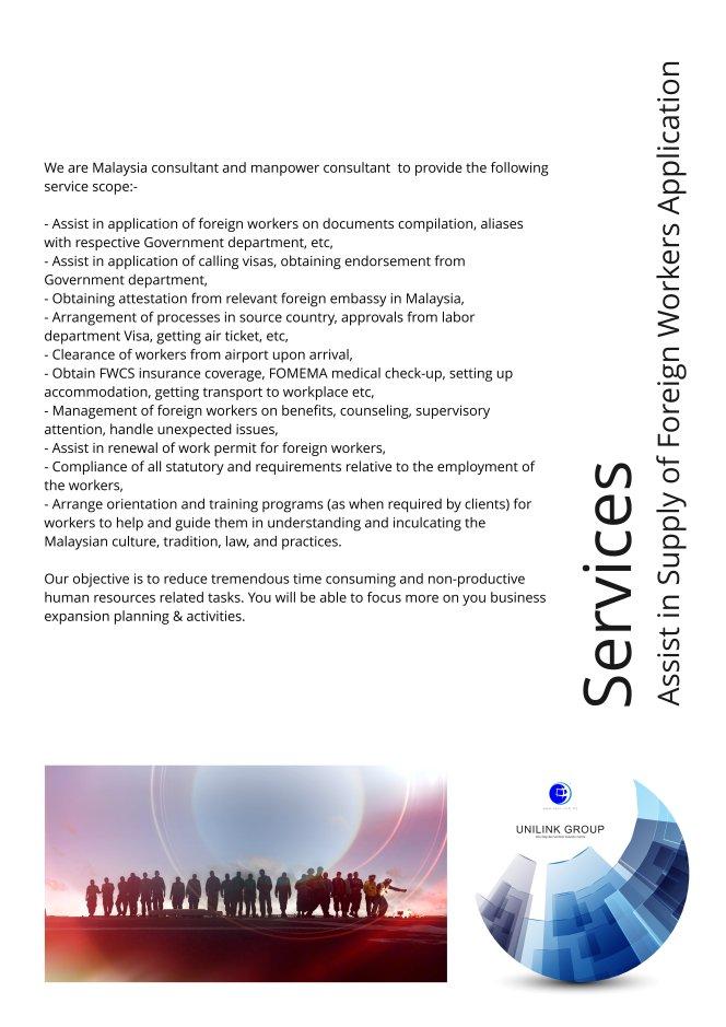 Company Profile of Agensi Pekerjaan Unilink Prospects Sdn Bhd Director Datin Sri Fun See Hoon Datin Sri Ivy Malaysia A10