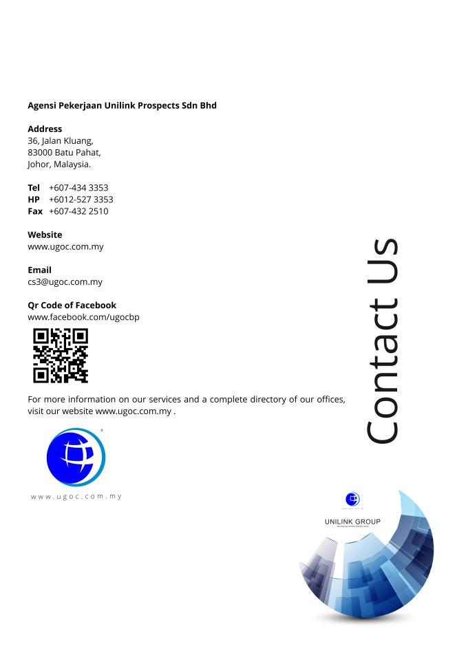 Company Profile of Agensi Pekerjaan Unilink Prospects Sdn Bhd Director Datin Sri Fun See Hoon Datin Sri Ivy Malaysia A13