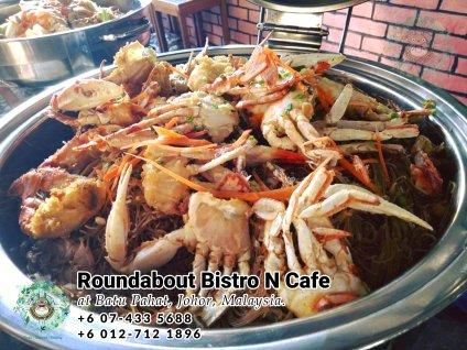 峇株巴辖自助餐龙猫特色中西餐厅 复古式建筑咖啡厅 马来西亚柔佛峇株巴辖地标交通圈小酒馆 公司聚会 Batu Pahat Roudabout Bistro N Cafe PC01-24