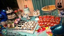 峇株巴辖自助餐龙猫特色中西餐厅 复古式建筑咖啡厅 马来西亚柔佛峇株巴辖地标交通圈小酒馆 公司聚会 Batu Pahat Roudabout Bistro N Cafe PC01-49