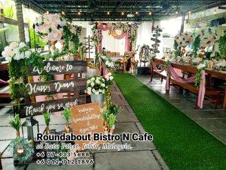 峇株巴辖自助餐龙猫特色中西餐厅 复古式建筑咖啡厅 马来西亚柔佛峇株巴辖地标交通圈小酒馆 公司聚会 Batu Pahat Roudabout Bistro N Cafe PC01-08