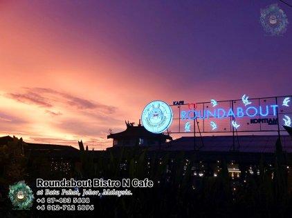 马来西亚柔佛峇株巴辖龙猫特色中西餐厅 复古式建筑咖啡厅 峇株巴辖地标交通圈小酒馆 公司聚会 庆生派对 Batu Pahat Roudabout Bistro N Cafe PA01-02