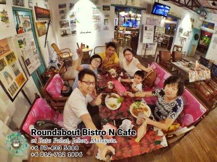 马来西亚柔佛峇株巴辖龙猫特色中西餐厅 复古式建筑咖啡厅 峇株巴辖地标交通圈小酒馆 公司聚会 庆生派对 Batu Pahat Roudabout Bistro N Cafe PA01-20