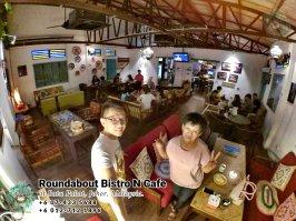 马来西亚柔佛峇株巴辖龙猫特色中西餐厅 复古式建筑咖啡厅 峇株巴辖地标交通圈小酒馆 公司聚会 庆生派对 Batu Pahat Roudabout Bistro N Cafe PA01-22