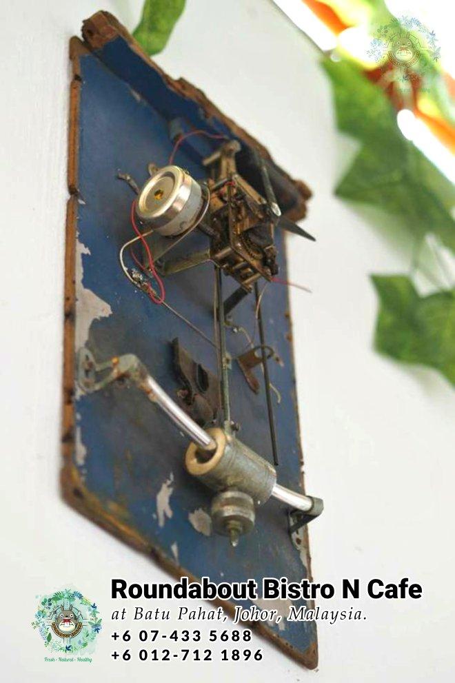 马来西亚柔佛峇株巴辖龙猫特色中西餐厅 复古式建筑咖啡厅 峇株巴辖地标交通圈小酒馆 公司聚会 庆生派对 Batu Pahat Roudabout Bistro N Cafe PA01-25