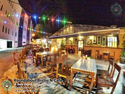 马来西亚柔佛峇株巴辖龙猫特色中西餐厅 复古式建筑咖啡厅 峇株巴辖地标交通圈小酒馆 公司聚会 庆生派对 Batu Pahat Roudabout Bistro N Cafe PA01-04