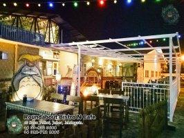 马来西亚柔佛峇株巴辖龙猫特色中西餐厅 复古式建筑咖啡厅 峇株巴辖地标交通圈小酒馆 公司聚会 庆生派对 Batu Pahat Roudabout Bistro N Cafe PA01-07