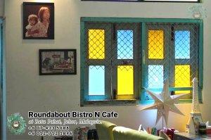 马来西亚柔佛峇株巴辖龙猫特色中西餐厅 复古式建筑咖啡厅 峇株巴辖地标交通圈小酒馆 公司聚会 庆生派对 Batu Pahat Roudabout Bistro N Cafe PA01-08