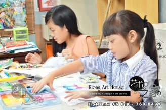 Malaysia Johor Batu Pahat Art Courses Art Studio Children Painting Wotercolour Wooden Strokes Crayon Sketching Oil Painting Advertising Painting Murals Kiong Art House A01-02