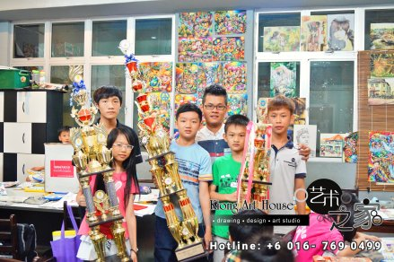 Malaysia Johor Batu Pahat Art Courses Art Studio Children Painting Wotercolour Wooden Strokes Crayon Sketching Oil Painting Advertising Painting Murals Kiong Art House A01-06