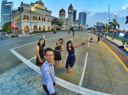 Merdeka Square Kuala Lumpur Malaysia Selangor Dataran Merdeka Kuala Lumpur Malaysia Travel Raymond Ong Effye Ang Pinky Ning Estella Oon 吉隆坡马来西亚A01