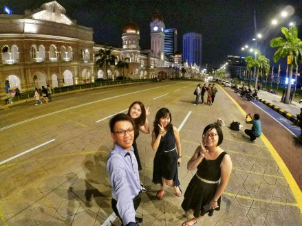 Merdeka Square Kuala Lumpur Malaysia Selangor Dataran Merdeka Kuala Lumpur Malaysia Travel Raymond Ong Effye Ang Pinky Ning Estella Oon 吉隆坡马来西亚A20