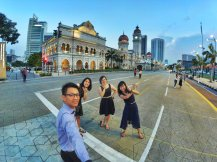 Merdeka Square Kuala Lumpur Malaysia Selangor Dataran Merdeka Kuala Lumpur Malaysia Travel Raymond Ong Effye Ang Pinky Ning Estella Oon 吉隆坡马来西亚A03