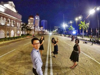 Merdeka Square Kuala Lumpur Malaysia Selangor Dataran Merdeka Kuala Lumpur Malaysia Travel Raymond Ong Effye Ang Pinky Ning Estella Oon 吉隆坡马来西亚A21