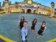 Merdeka Square Kuala Lumpur Malaysia Selangor Dataran Merdeka Kuala Lumpur Malaysia Travel Raymond Ong Effye Ang Pinky Ning Estella Oon 吉隆坡马来西亚A05