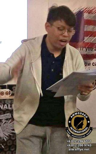 Ammodago International 工作坊 2018 David Goh 发展你成为世界级的演讲者 让你体验你内在的力量 马来西亚 雪兰莪 吉隆坡 培训 训练 课程 2018 EPA10