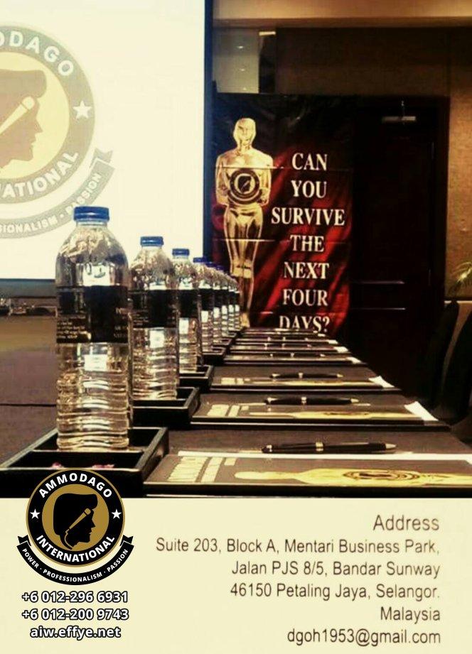 Ammodago International 工作坊 2018 David Goh 发展你成为世界级的演讲者 让你体验你内在的力量 马来西亚 雪兰莪 吉隆坡 培训 训练 课程 2018 EPA17