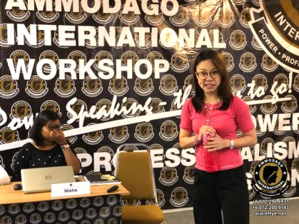 Ammodago International 工作坊2018 David Goh 发展你成为世界级的演讲者 让你体验你内在的力量 马来西亚雪兰莪吉隆坡演讲培训 训练课程 2018 EPA02-15