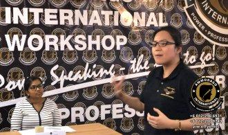 Ammodago International 工作坊2018 David Goh 发展你成为世界级的演讲者 让你体验你内在的力量 马来西亚雪兰莪吉隆坡演讲培训 训练课程 2018 EPA02-20