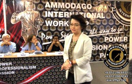 Ammodago International Workshop 2018 David Goh Develop You To Be World Class Speaker Experience The Power Within You Malaysia Selangor Kuala Lumpur Training 2018 EPA02-14