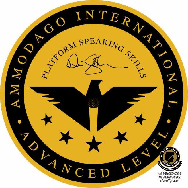 Ammodago International Workshop 2018 David Goh Develop You To Be World Class Speaker Experience The Power Within You Malaysia Selangor Kuala Lumpur Training 2018 EPA02-18