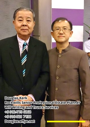 Douglas Kerk Rockwills Senior Professional Estate Planner - Will Writing and Trusts Services Batu Pahat and Kluang Johor Malaysia Property Management PA02-01