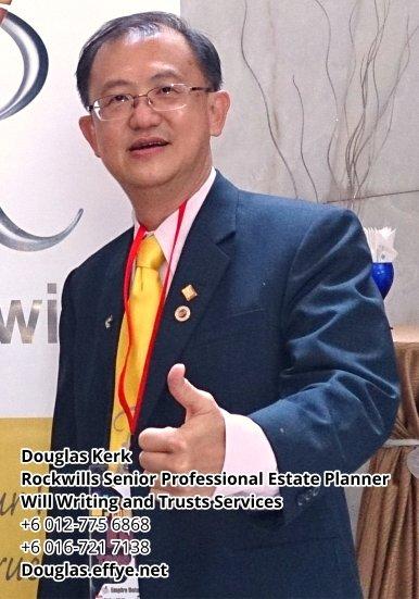 Douglas Kerk Rockwills Senior Professional Estate Planner - Will Writing and Trusts Services Batu Pahat and Kluang Johor Malaysia Property Management PA02-04