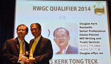 Douglas Kerk Rockwills Senior Professional Estate Planner - Will Writing and Trusts Services Batu Pahat and Kluang Johor Malaysia Property Management PA02-05