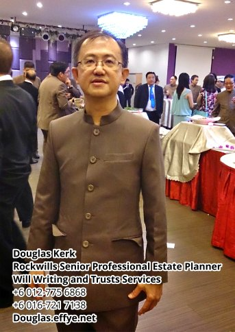 Douglas Kerk Rockwills Senior Professional Estate Planner - Will Writing and Trusts Services Batu Pahat and Kluang Johor Malaysia Property Management PA02-06