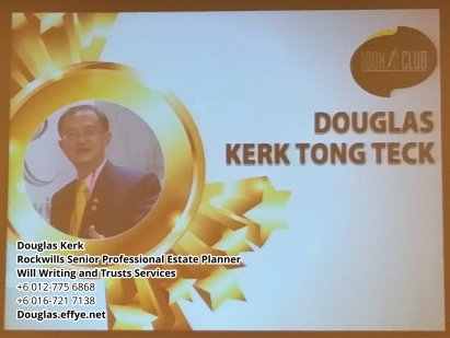 Douglas Kerk Rockwills Senior Professional Estate Planner - Will Writing and Trusts Services Batu Pahat and Kluang Johor Malaysia Property Management PA02-15