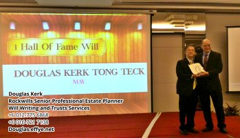 Douglas Kerk Rockwills Senior Professional Estate Planner - Will Writing and Trusts Services Batu Pahat and Kluang Johor Malaysia Property Management PA02-20