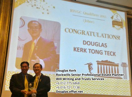 Douglas Kerk Rockwills Senior Professional Estate Planner - Will Writing and Trusts Services Batu Pahat and Kluang Johor Malaysia Property Management PA02-36
