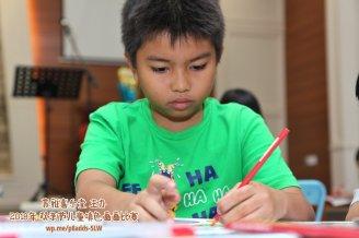 Batu Pahat Gereja Joy Soga Colouring Contest 苏雅喜乐堂主办2018年 峇株巴辖双亲节儿童填色画画比赛 培养儿童对彩色画画的兴趣 发掘美术的潜能 B1-31