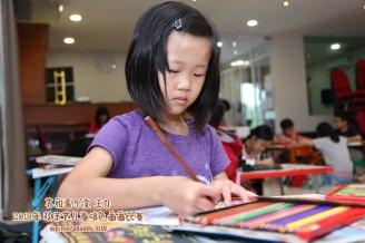 Batu Pahat Gereja Joy Soga Colouring Contest 苏雅喜乐堂主办2018年 峇株巴辖双亲节儿童填色画画比赛 培养儿童对彩色画画的兴趣 发掘美术的潜能 B1-40