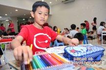Batu Pahat Gereja Joy Soga Colouring Contest 苏雅喜乐堂主办2018年 峇株巴辖双亲节儿童填色画画比赛 培养儿童对彩色画画的兴趣 发掘美术的潜能 B1-19