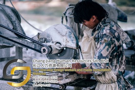 Chang Jiang Human Resources Johor Malaysia Foreign Worker Permit Passport Insurance Consultation Rehiring Workers and Maids EPA01-87