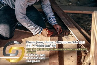 Chang Jiang Human Resources Johor Malaysia Foreign Worker Permit Passport Insurance Consultation Rehiring Workers and Maids EPA01-89