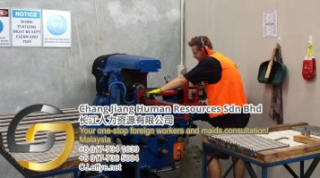 Chang Jiang Human Resources Johor Malaysia Foreign Worker Permit Passport Insurance Consultation Rehiring Workers and Maids EPA01-95