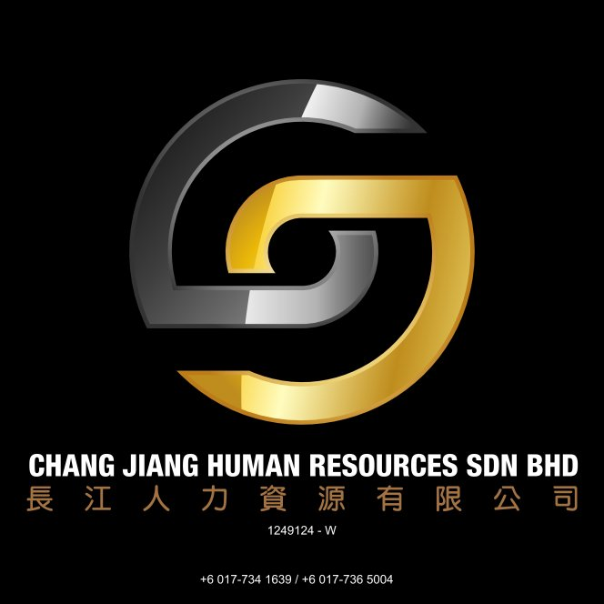 Chang Jiang Human Resources Johor Malaysia Foreign Worker Permit Passport Insurance Consultation Rehiring Workers and Maids Logo