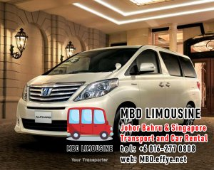 MBD Limousine Johor Bahru Transport and Car Rental Malaysia Transport and Car Rental Singapore Transport and Car Rental Transport between Malaysia and Singapore PA01-01